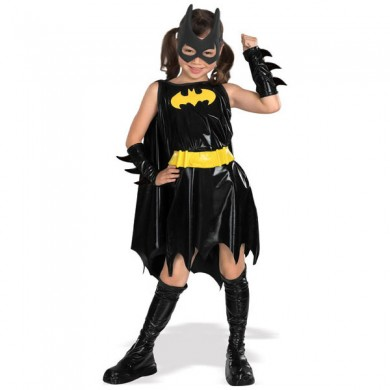 Bat Girl Fancy Dress Costume