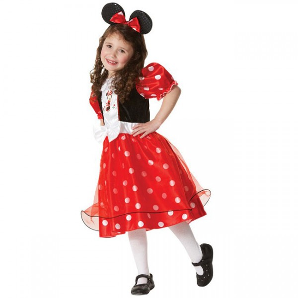 minnie mouse skirt tutu + ears headband bow red white polka dot 80s fancy dress gbp Girls Polka Dots Halloween Fancy Party Dress Dancewear Kids Clothes Set Age Y GBP Girl Princess Of The Seas Pirate Fancy Dress Costume & Hat Halloween Xmas Outfit GBP