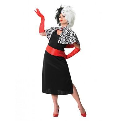 Cruella De ville Costume
