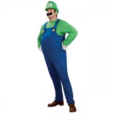 Luigi Mario Costume