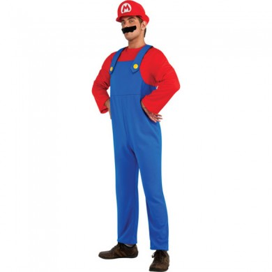Mario Fancy Dress Costume