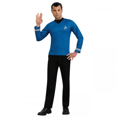 Star Trek Blue Shirt
