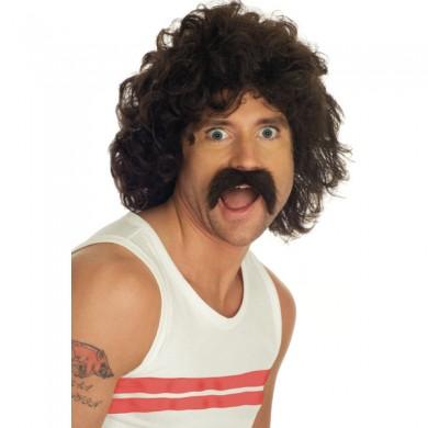 Wig n Moustache Set