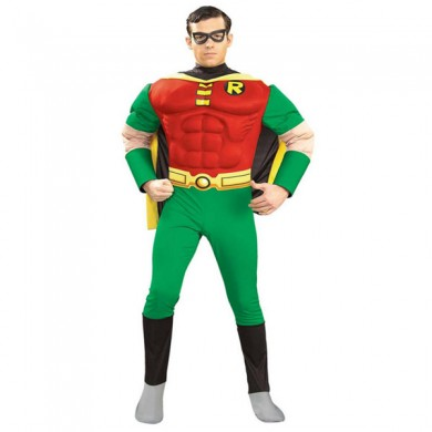 Robin Muscle Chest Costume