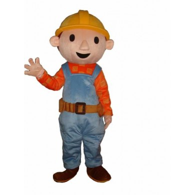 Bob The Builder Mascot (HIRE ONLY)