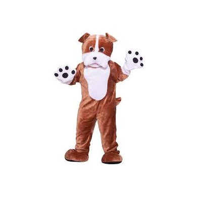 Bulldog Mascot Plush (HIRE ONLY)