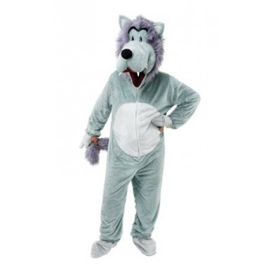 Wolf Mascot Suit (HIRE ONLY)