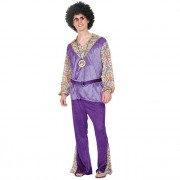 Hippy Man Purple Velvet