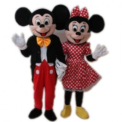 Minnie and Mickey Mouse Mascot (HIRE ONLY)