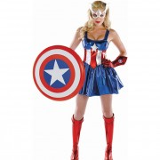 Captain American Girl