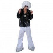 Sequin Trousers White
