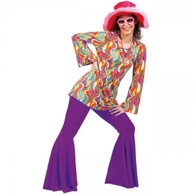 Hippy Trousers Purple
