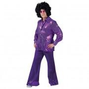 Sequin Trousers Purple