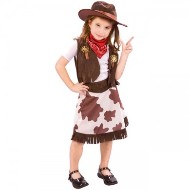 Cow Girl Fancy Dress Outfit | Kids Fancy Dress | Fancy Dress Costume